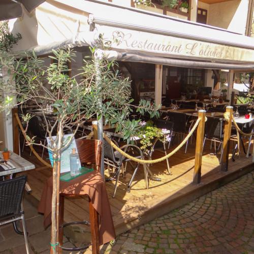 Restaurant L'Olivier Annecy - La Terrasse ombragée